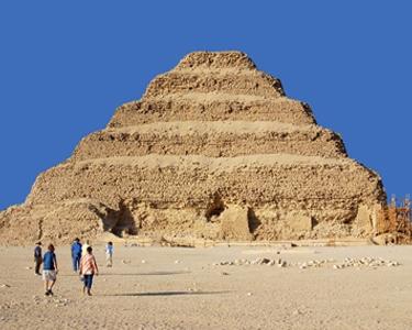 Egypt tour package: Around Egypt in 15 days- Saqqara Pyramid