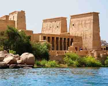 "Philae Temple, Aswan - Best Egypt travel packages ""Queen Hatshepsut trip vacation"""