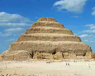 "Saqqara Pyramid - Best Egypt travel packages ""Queen Hatshepsut trip vacation"""