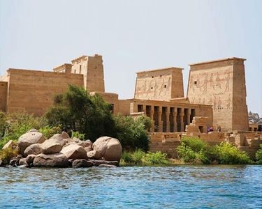 """Philae Temple - Tour package in Egypt """"pharaoh Ramsees 2 Tour"""