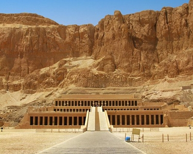 """Temple of Queen Hatshepsut -Tour package in Egypt """"pharaoh Ramsees 2 Tour"""