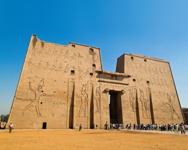 Edfu Temple - Visit egypt with our Golden ahmose henutemipet Trip (Dahabiya)