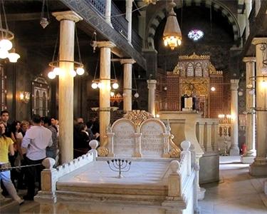Coptic Cairo District Trip : Best 1 day tour in Egypt -Ben Ezra Synagogue