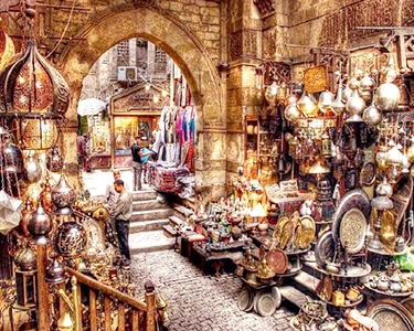 """Khan El Khalili """"One day trip in Egypt: Starting with the Egyptian Museum"""""""