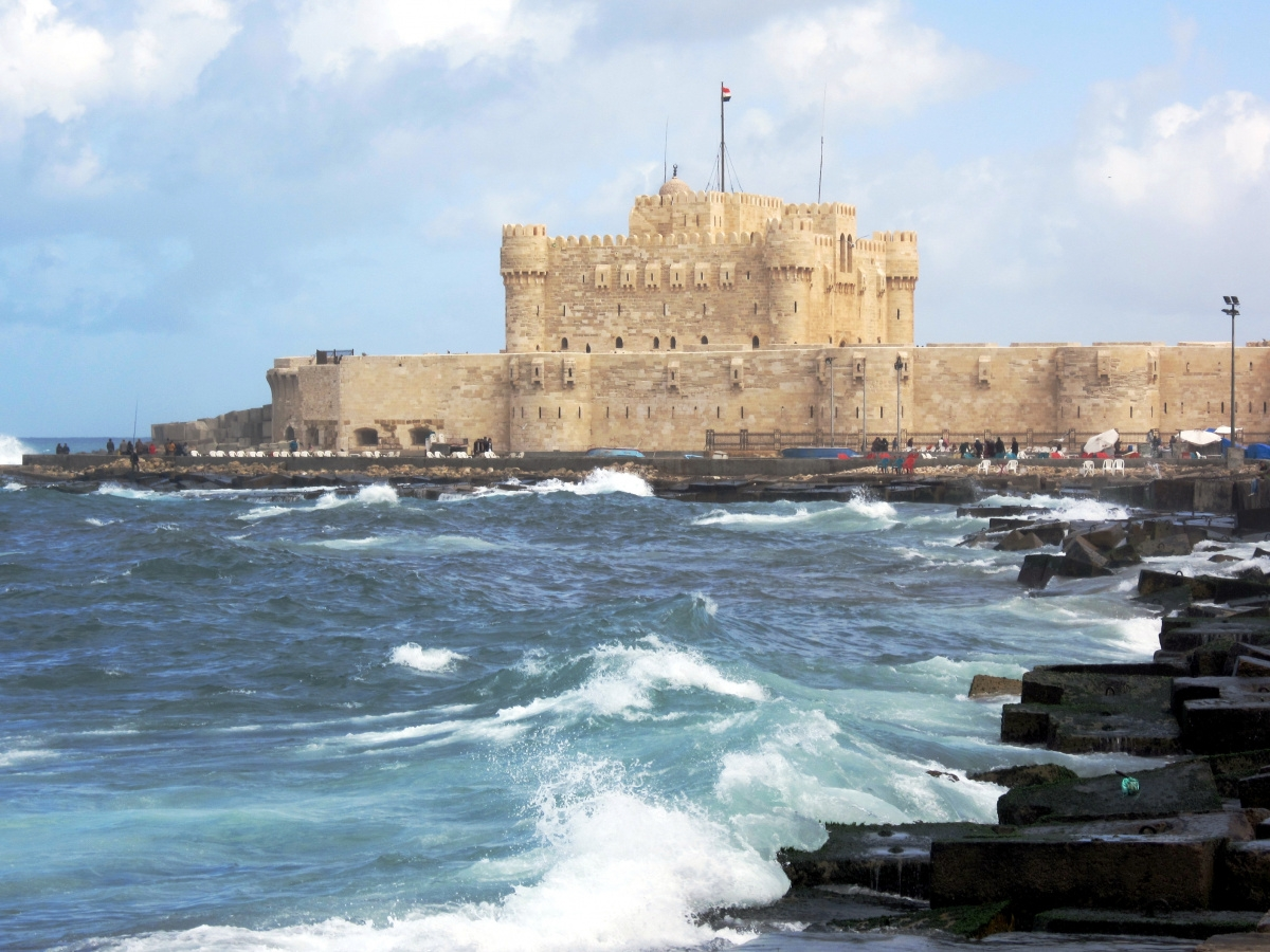 The Fort of Qaietbey - Alexandria